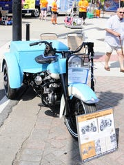 Mike McFarland of Port Huron restored a 1959 Harley