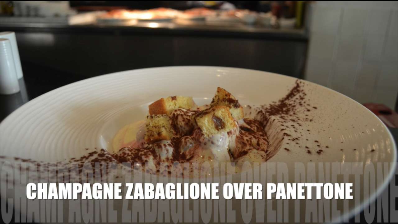 There's more to Champagne than ringing in the new year. Here's one of two recipes from Chef de Cuisine Cristiano Pozzi of Al Dente Ristorante at the Hyatt Regency Guam hotel. This first video is for the sweet and decadent Italian dessert, zabaglione.