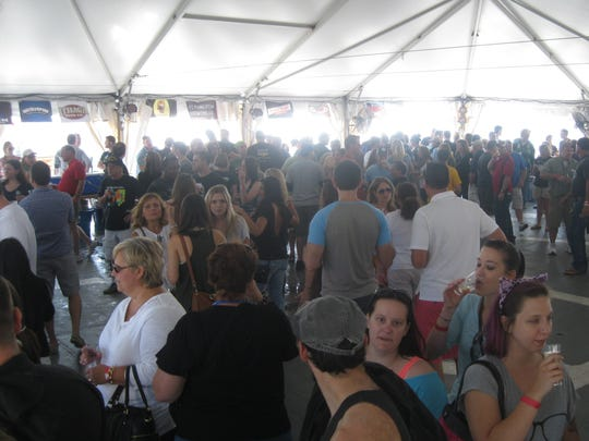 A host of breweries represent their best at the event, including Dogfish Head, Magic Hat, Yards Brewing Company and more.