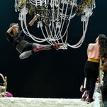 Cirque du Soleil rehearses for the CORTEO performances in Knoxville