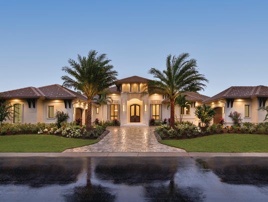 Cape coral homes honored in builder 39 s showcase awards for Castle home builders