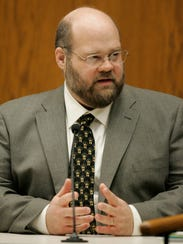 John Ertl, a forensic scientist with the Wisconsin