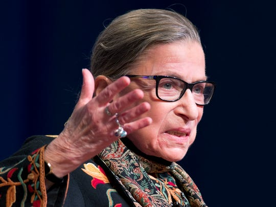 Supreme Court Justice Ruth Bader Ginsburg wrote the