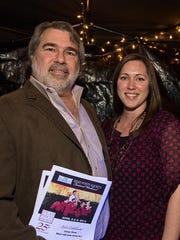 Delaware-based filmmaker John Rusk and his daughter