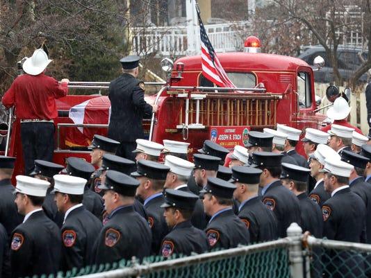 Lt. Joseph Stach funeral