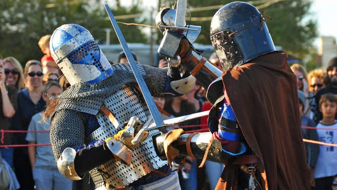 The Dragon Festival is a medieval and Renaissance fair that also incorporates highland themes.