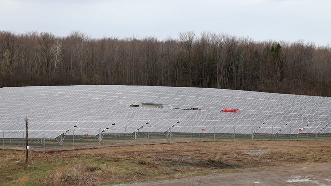 More than 6,100 solar panels on the campus of RIT will help supply the college with about 4 percent of its power needs.