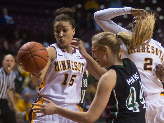 Minnesota Green Bay Phoenix Basketball (2)
