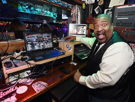"The Starboard's own Lyndon ""DJ Smoky"" Lansdowne will"