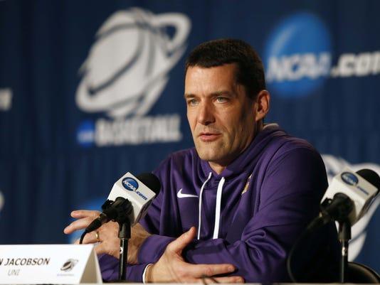 NCAA Basketball: NCAA Tournament-Northern Iowa Practice