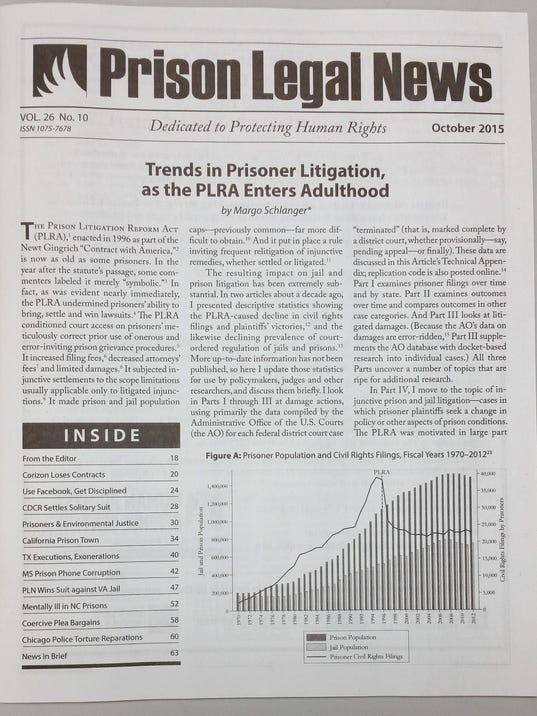 Prison Legal news photo