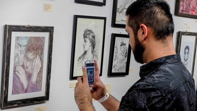 The Guam Art Exhibit (GAX) opening night was held at Agana Shopping Center on Aug. 13.  The exhibit is focusing this year on portraits and it is open daily until Sept. 7.