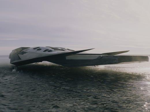 'Interstellar' spaceships soar into starring roles