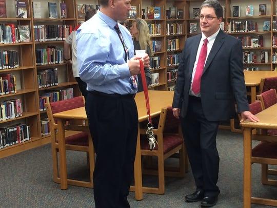 T.J. Walker Middle School principal candidate Dan Arvidson-Hicks