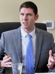 Wisconsin Rapids Mayor Zach Vruwink