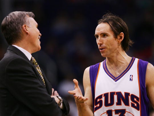 Mike D'Antoni set a 50-win goal for the 2004-05 Phoenix