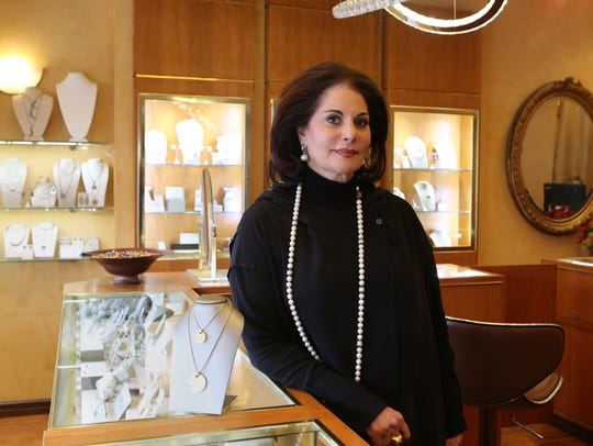 Varda Singer, owner of ICD Contemporary Jewelry in