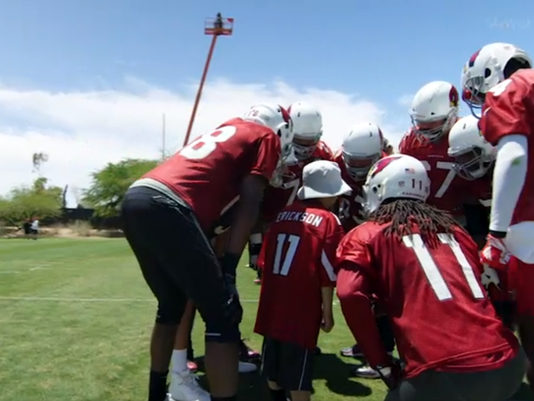 Tennyson Erickson meets Arizona Cardinals