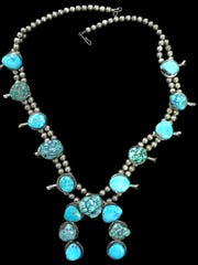 Examine turquoise before purchasing Native American jewelry, or have an appraiser authenticate it.