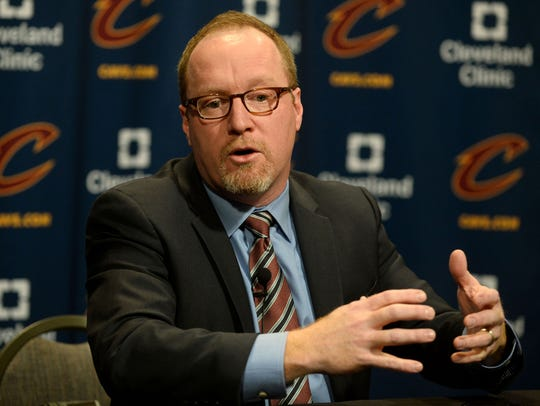 Cleveland Cavaliers general manager David Griffin talks