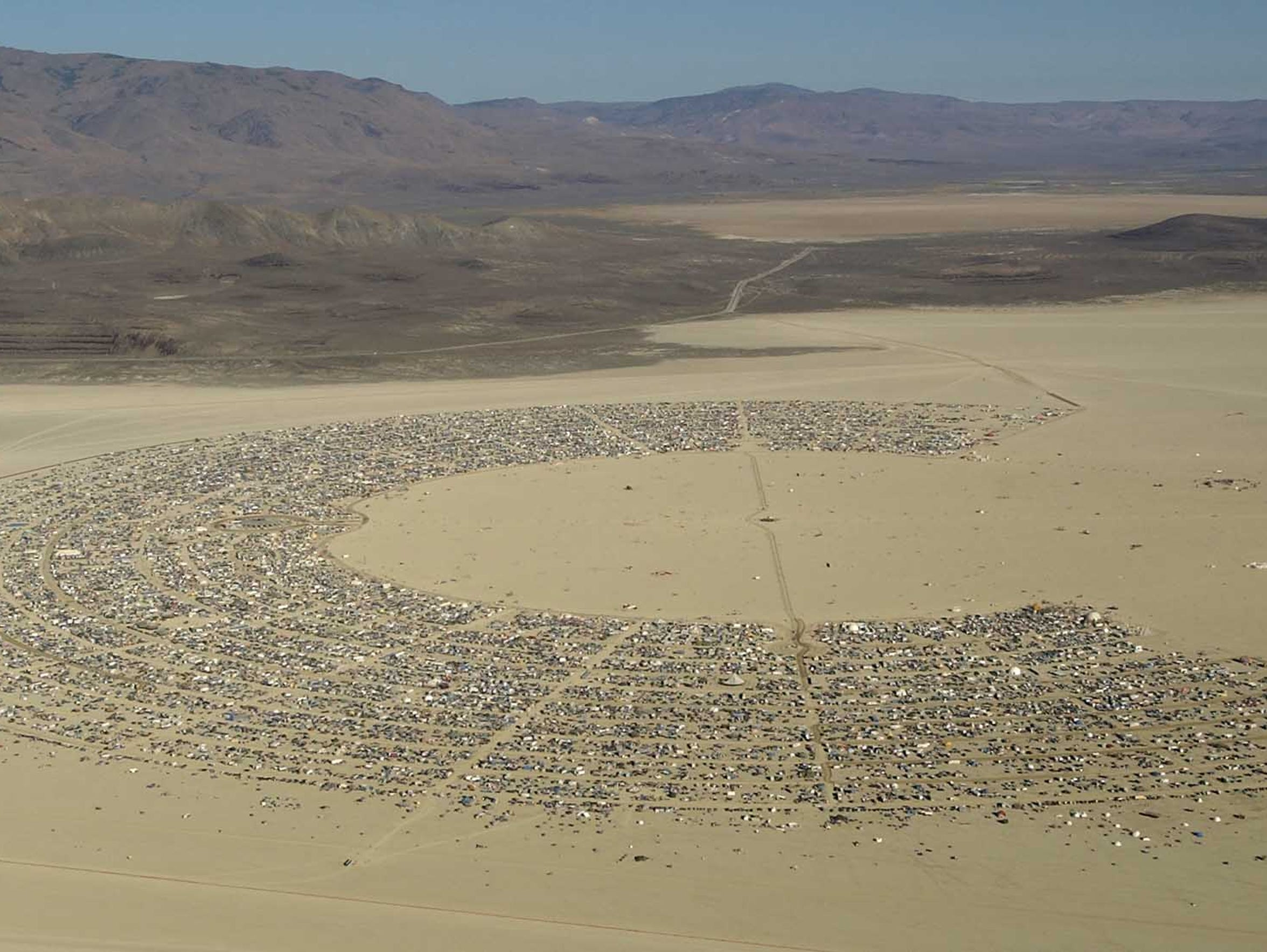 Black Rock Desert's design was that of Rod Garrett,