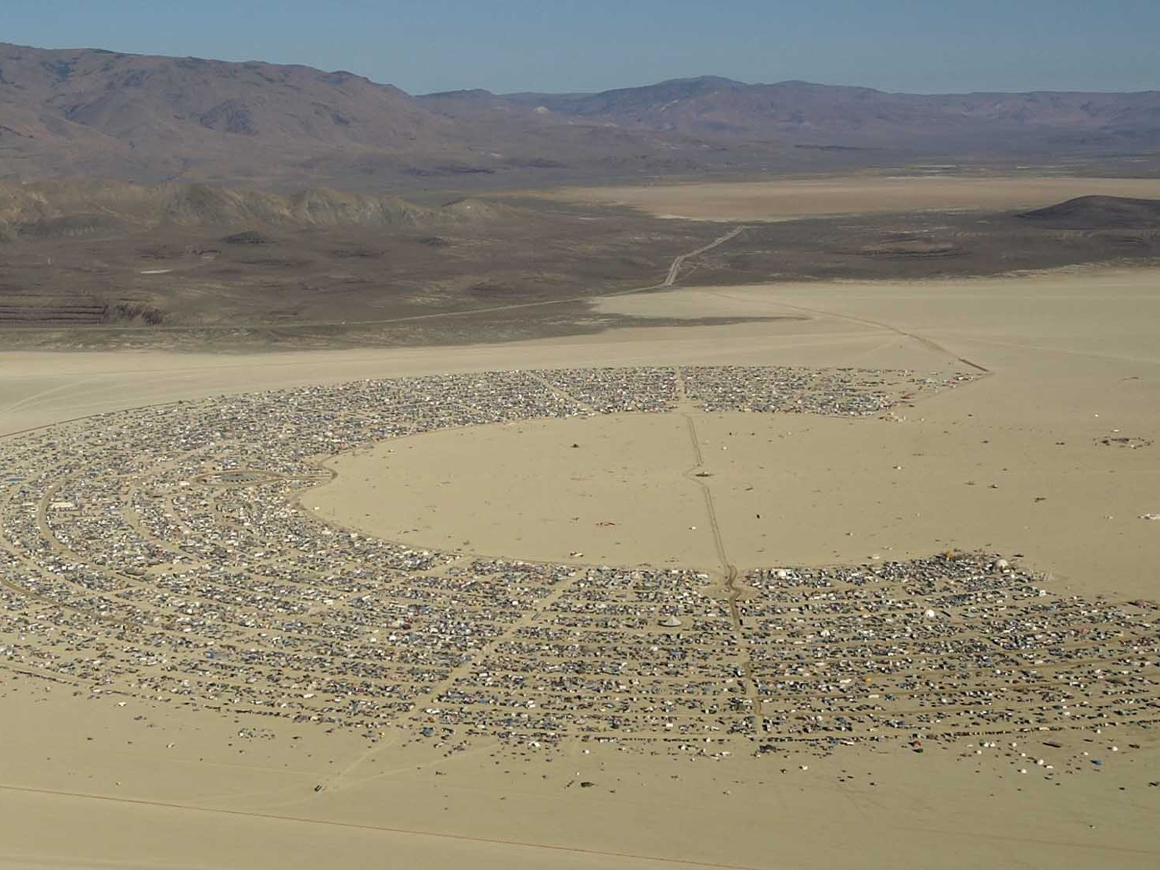 Black Rock Desert's design was that of Rod Garrett, whose initial design was somewhat different when first applied in 1997.