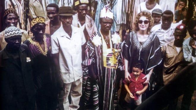The Dennises in Liberia