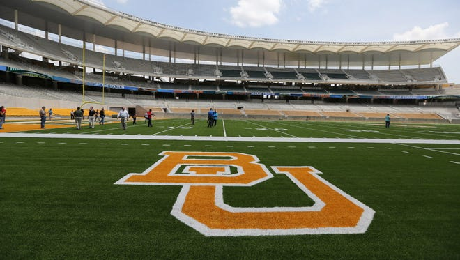 A general view of Baylor's McLane Stadium.