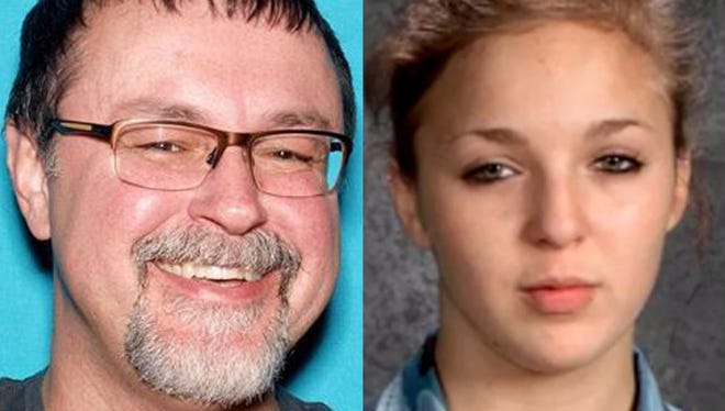 Former Middle Tennessee teacher Tad Cummins (left) and 15-year-old Elizabeth Thomas