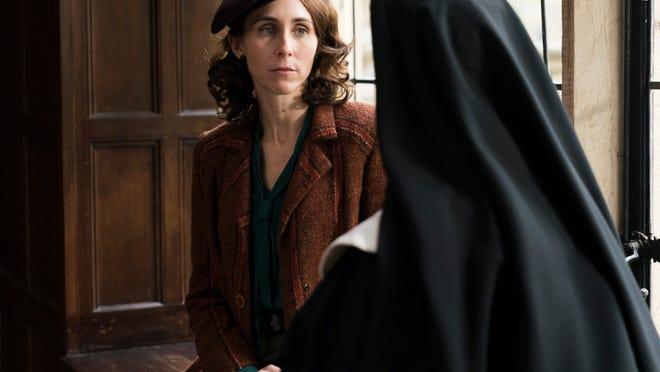 Virginia Hall (Sarah Megan Thomas) tries to thwart the Nazis through every means imaginable.