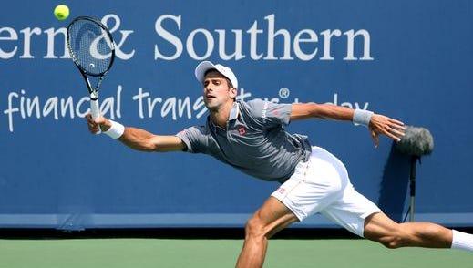 Five-time Western & Southern Open finalist Novak Djokovic