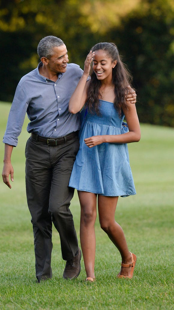President Obama gets real about raising two girls in