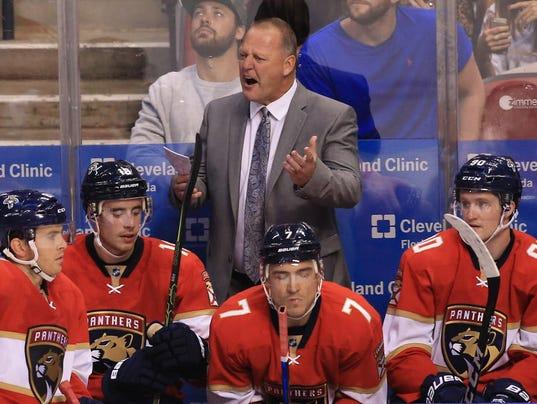 USP NHL: NEW JERSEY DEVILS AT FLORIDA PANTHERS S HKN USA FL