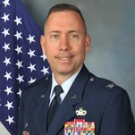 Col. Tom Wilcox, 341st Missile Wing commander at Malmstrom Air Force Base.