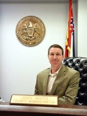 Lamar County Administrator Jody Waits