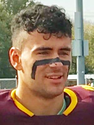 Gloucester Catholic senior running back/linebacker Mike McAleer.