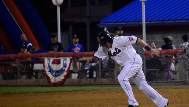 Binghamton Mets played against the Portland Sea Dogs during a playoff game on Thursday at NYSEG Stadium.