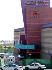 The theater where the shootings occurred.