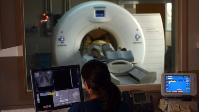 Nearly 1 in 5 lung tumors detected on CT scans are probably so slow-growing that they would never cause problems, a new study suggests.