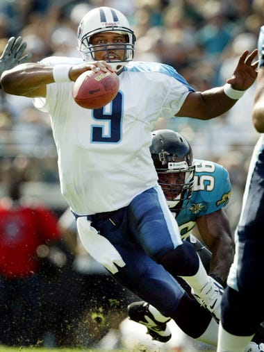Steve McNair -- 67 games started as a Titans quarterback
