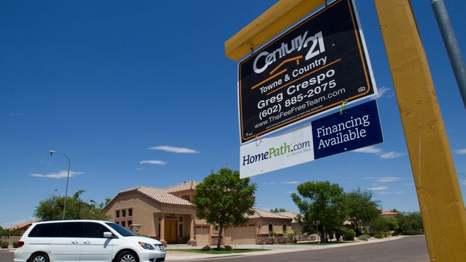 The number of metro Phoenix homes for sale is down 12 percent from a year ago.