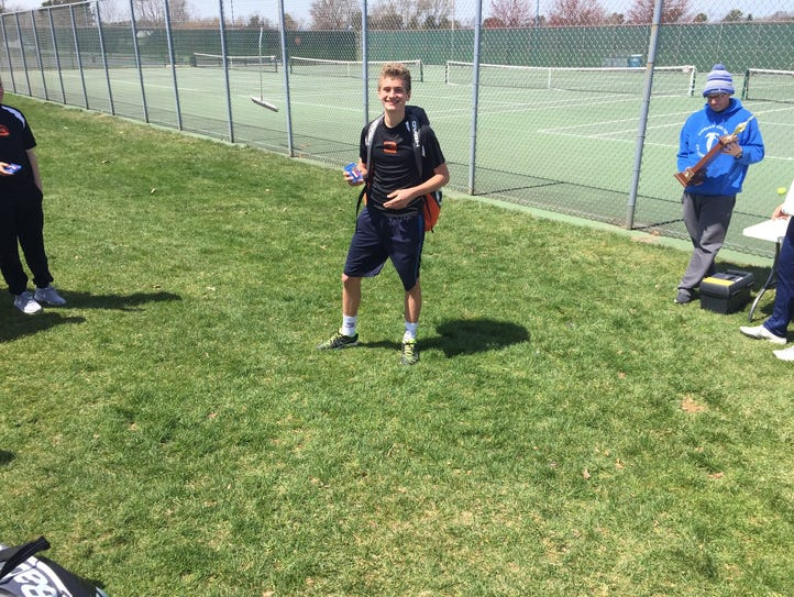 Palmyra's Ben Clary captured his first county singles
