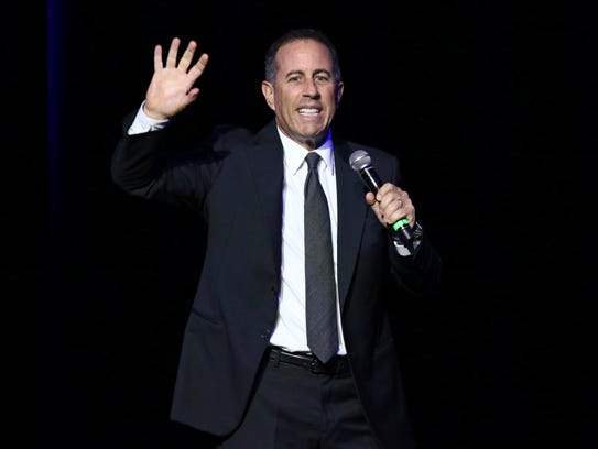 Jerry Seinfeld is the subject of a new Netflix documentary.