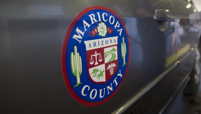 The Maricopa County Board of Supervisors on Monday signed off on a tentative $2.2 billion budget for fiscal 2016, pledging half of the money to pay for courts, probation and the county sheriff's office.