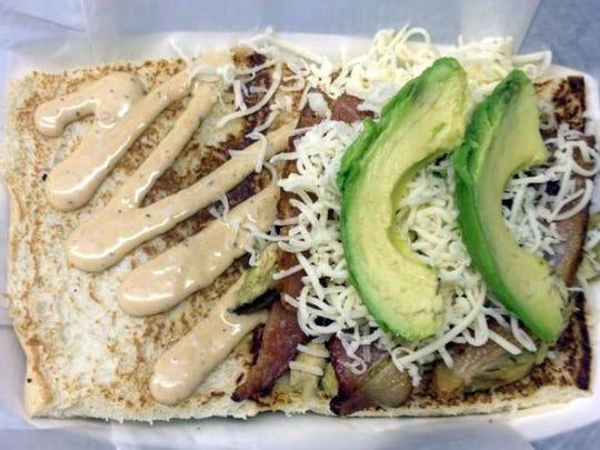 ABC Sandwich (Avocado, Bacon and Chicken Salad)