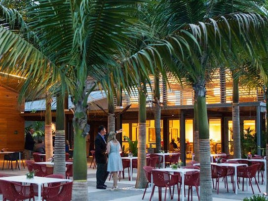 Fogg Cafe opened in October 2014 at Naples Botanical