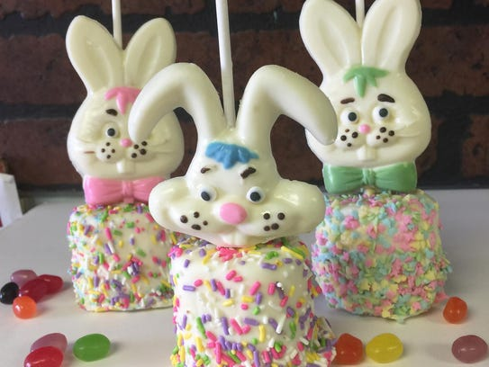 Easter offerings from Maureen's Candy.