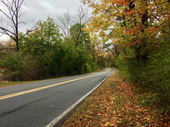 Pig Lady Road borders Duke Farms.
