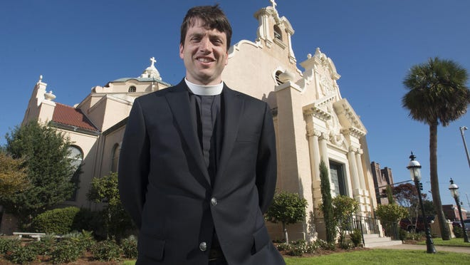 Historic Christ Church in downtown Pensacola has a new rector, the Rev. Michael Hoffman. Hoffman took over the Pensacola Parish in early December.