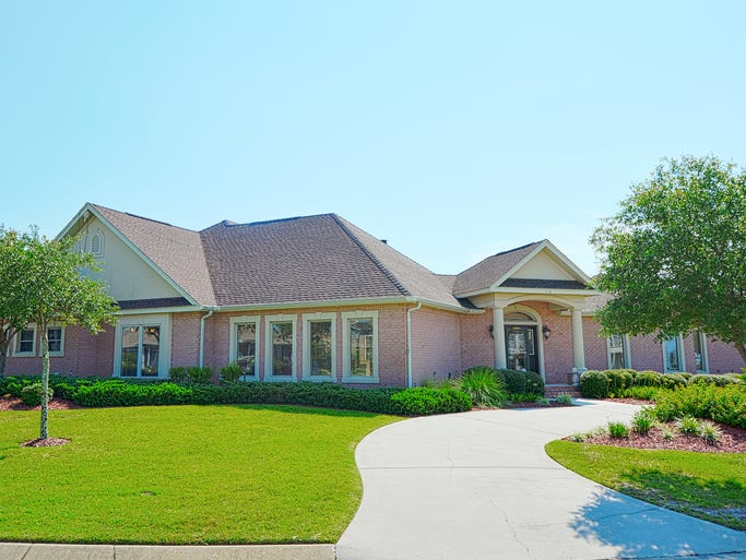 513 Windrose Circle, front view.